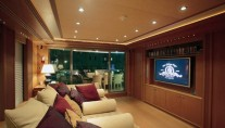 Yacht CAPRICORN -  Media Room